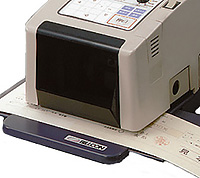 印紙税納付計器 RA1 スタンプ位置カスタマイズ