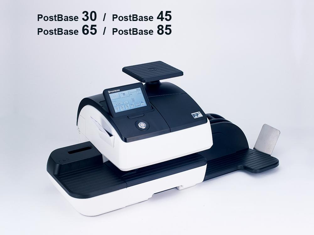 郵便料金計器 ポストベースシリーズ 写真